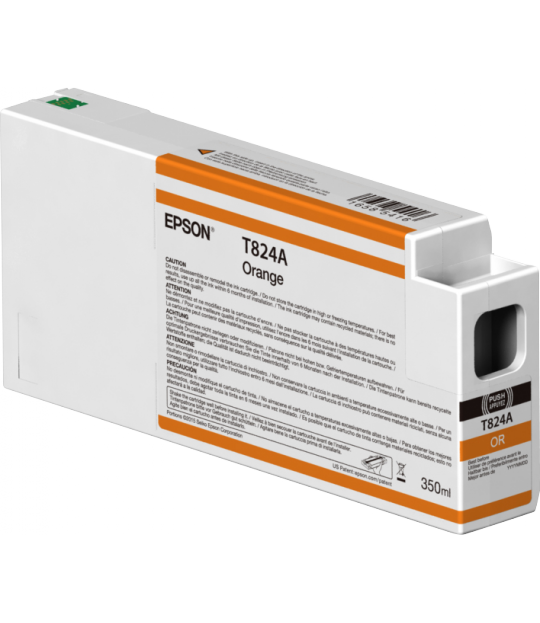 Orange T824A00 Ultrachrome HDX/HD 350ML