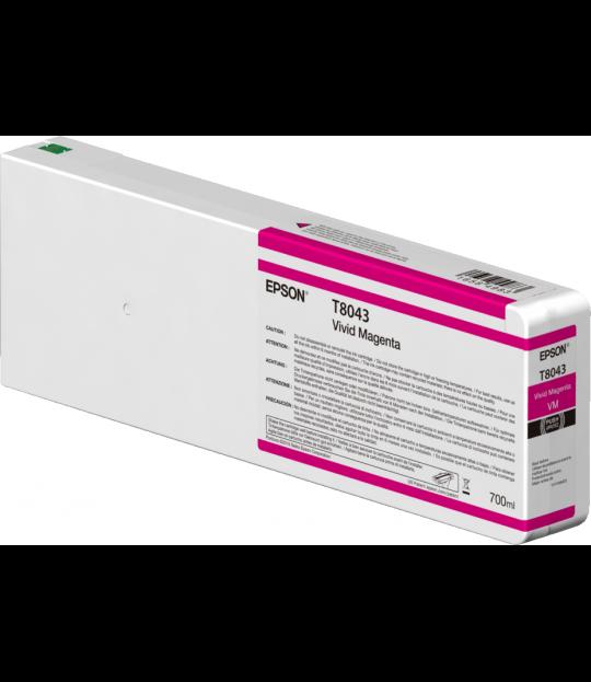 Vivid Magenta T804300 Ultrachrome HDX/HD 700ML