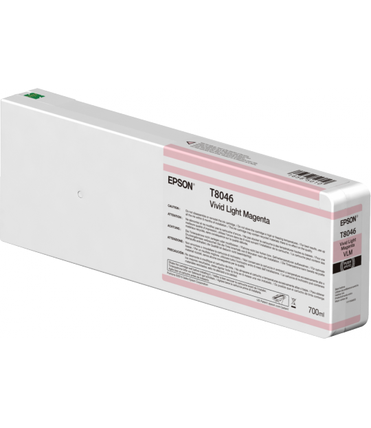 Vivid Light Magenta T804600 Ultrachrome HDX/HD 700ML