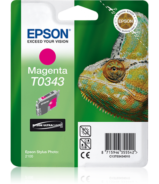 C13T034340 Magenta Ink Cartridge for Stylus Photo 2100