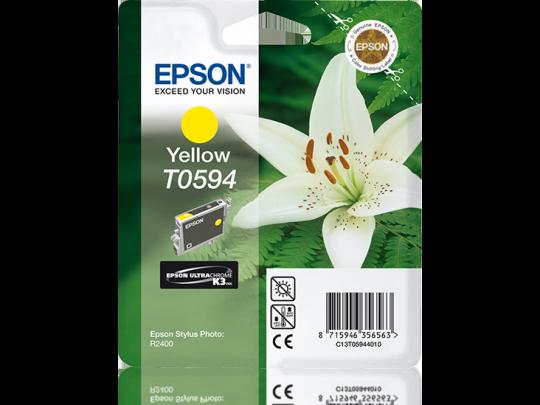 T059 Stylus R2400 Yellow Ink Cartridge