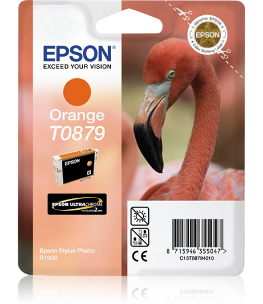 Epson Photo R1900 Orange Ink Cartridge