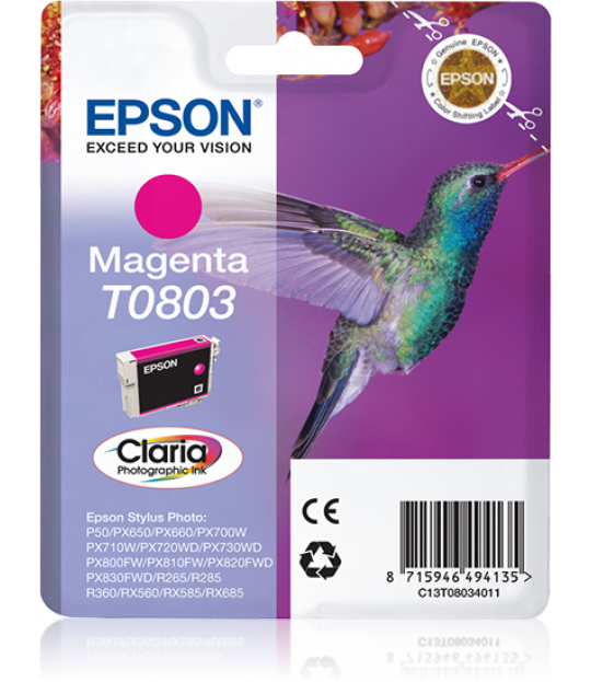 T0803 Magenta Ink Cartridge