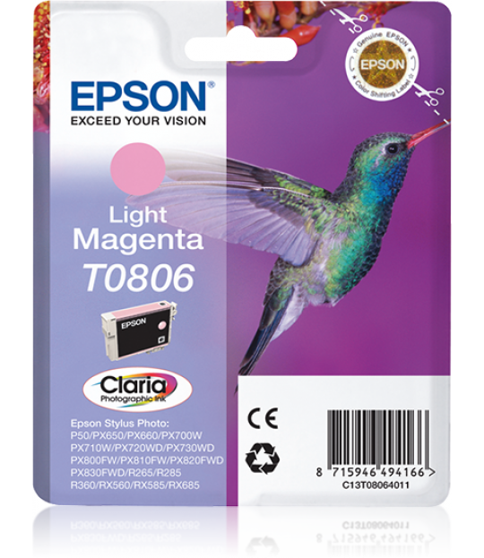 T0806 Light Magenta Ink Cartridge