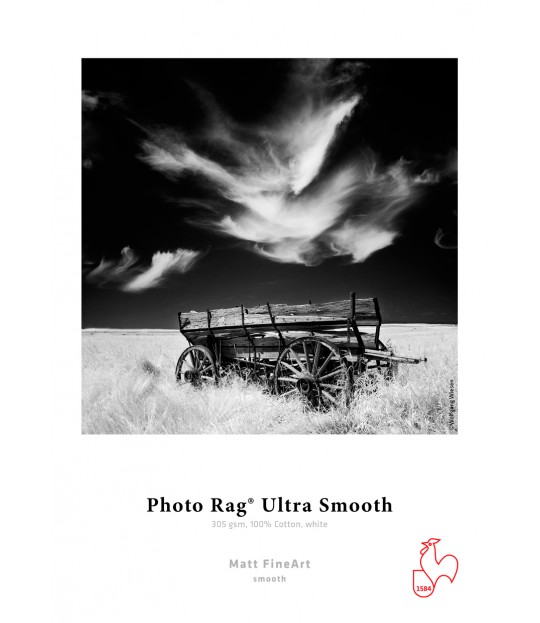HM_Photo Rag® Ultra Smooth 305g, A3+, eske 25 ark