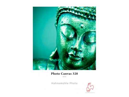 Photo Canvas Poly-Cotton 320gsm, bright white 17